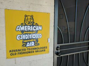 Highest Quality Experience -- American Conditioned Air