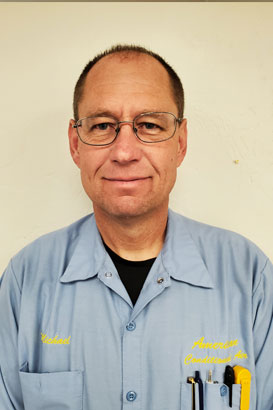 Mike W - Heating and air conditioning technician - our team